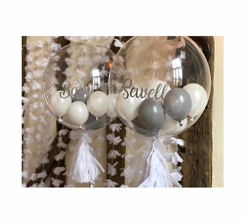 Baby Shower Bubble Balloons