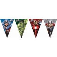 Avengers Multi Hero Flag Banner