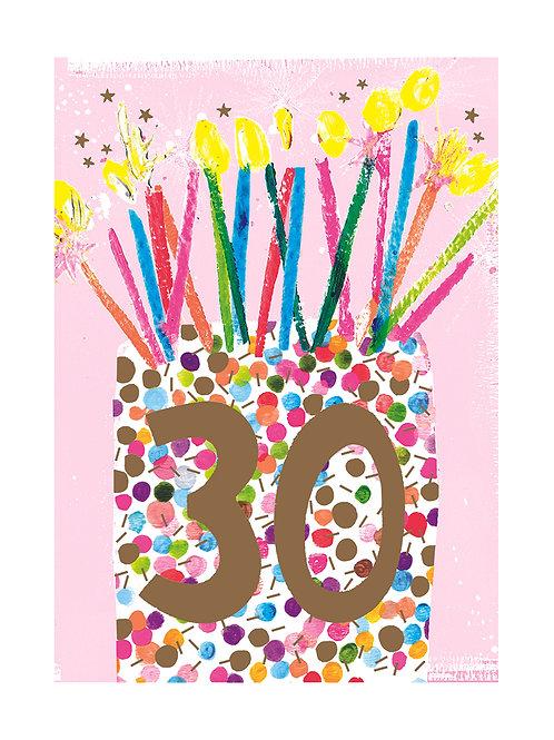 Female 30th Birthday