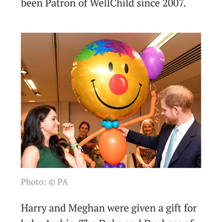 When Prince Harry met our Balloons!