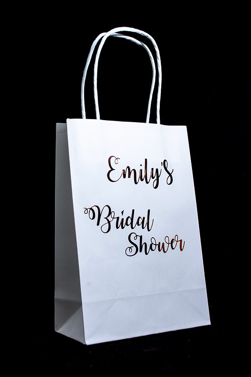 Personalised Party/Hen/Baby Shower Bags