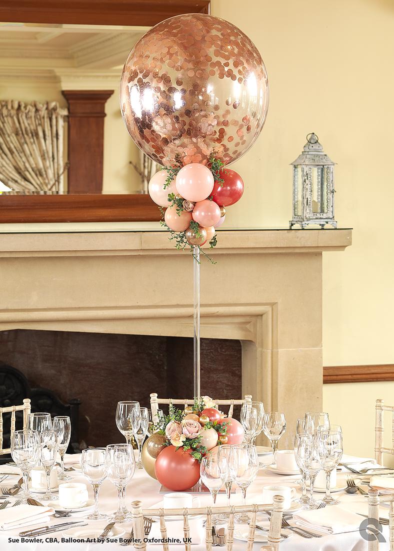 Table Rose Gold Organic