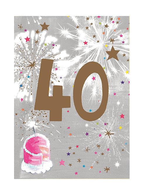 Female 40th Birthday