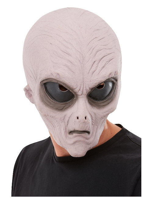 Alien Latex Mask Purple