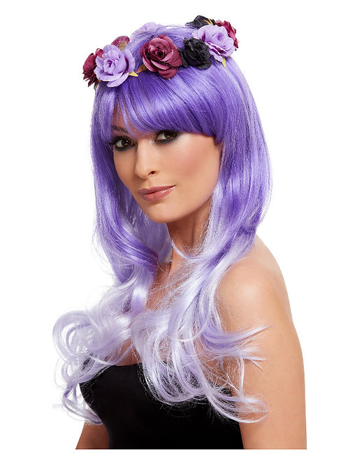 Day of the Dead Glam Wig