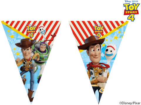 Toy Story 4 Triangle Bunting