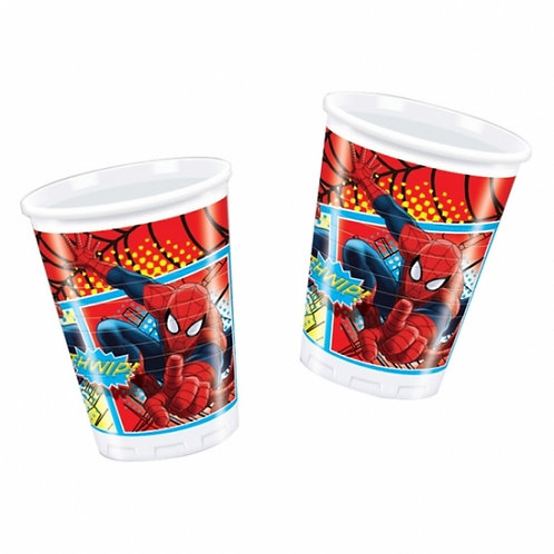Ultimate Spiderman Party Paper Cups Pk8