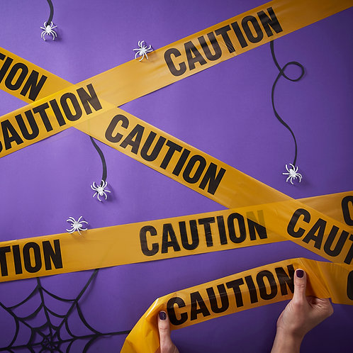 Halloween Do Not Enter Caution Tape