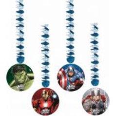 Avengers Multi Hero Dangling Cutouts