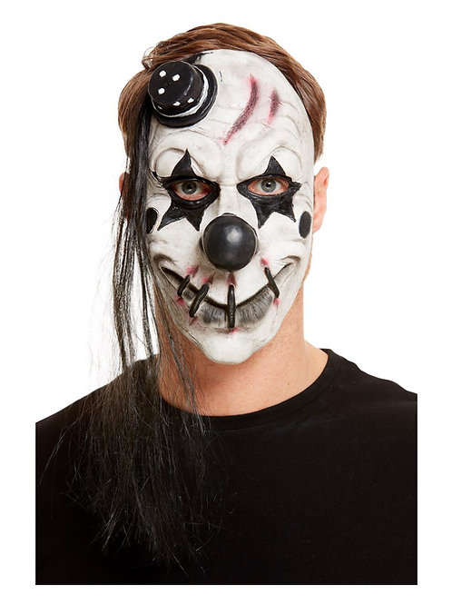 Scary Clown Latex Mask