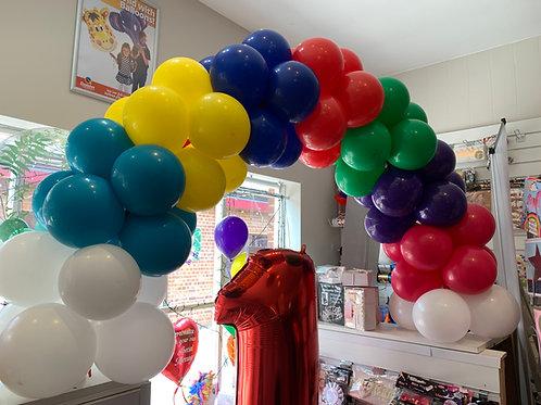 Table Balloon Arch-Ready to Go!