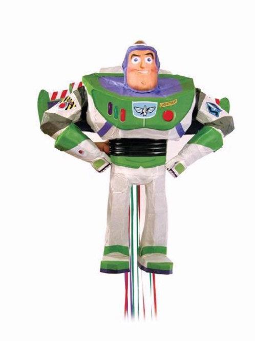Buzz Lightyear Pull Piñata