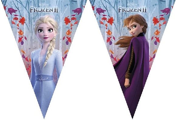 Frozen 2 Triangle Bunting