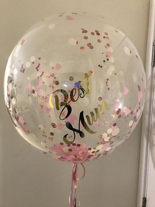 Handmade Personalised Bubble Balloon