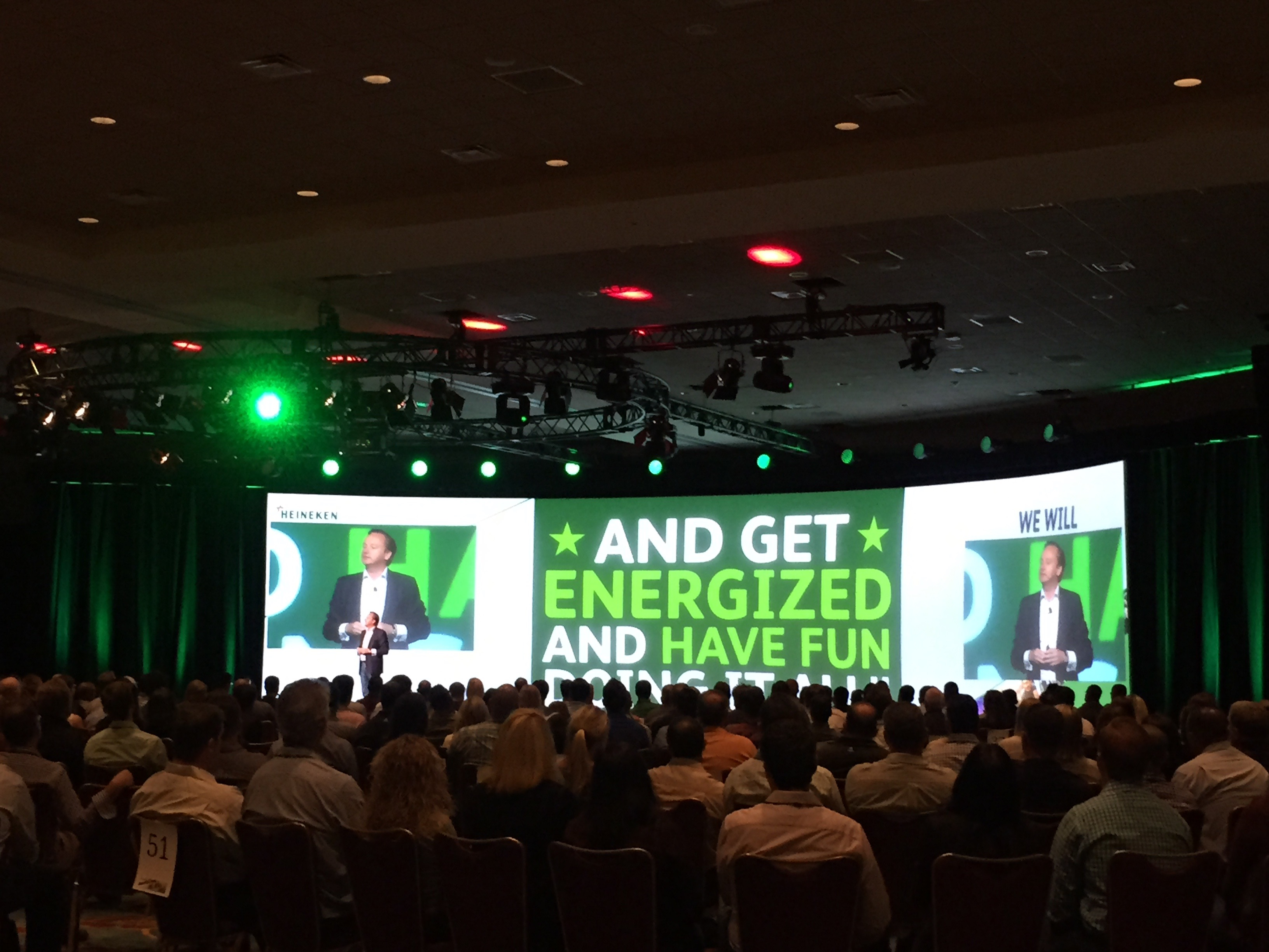 Heineken USA Employee Meeting 2015