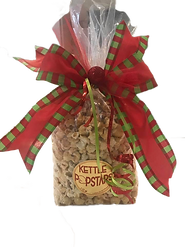 Kettlepopstars Holiday bags. sweet and salty. The stars of kettle corn. Christmas gift bag.