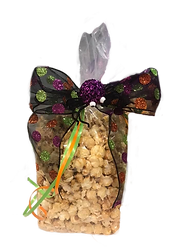 Kettlepopstars Holiday bags. sweet and salty. The stars of kettle corn. Halloween gift bag.
