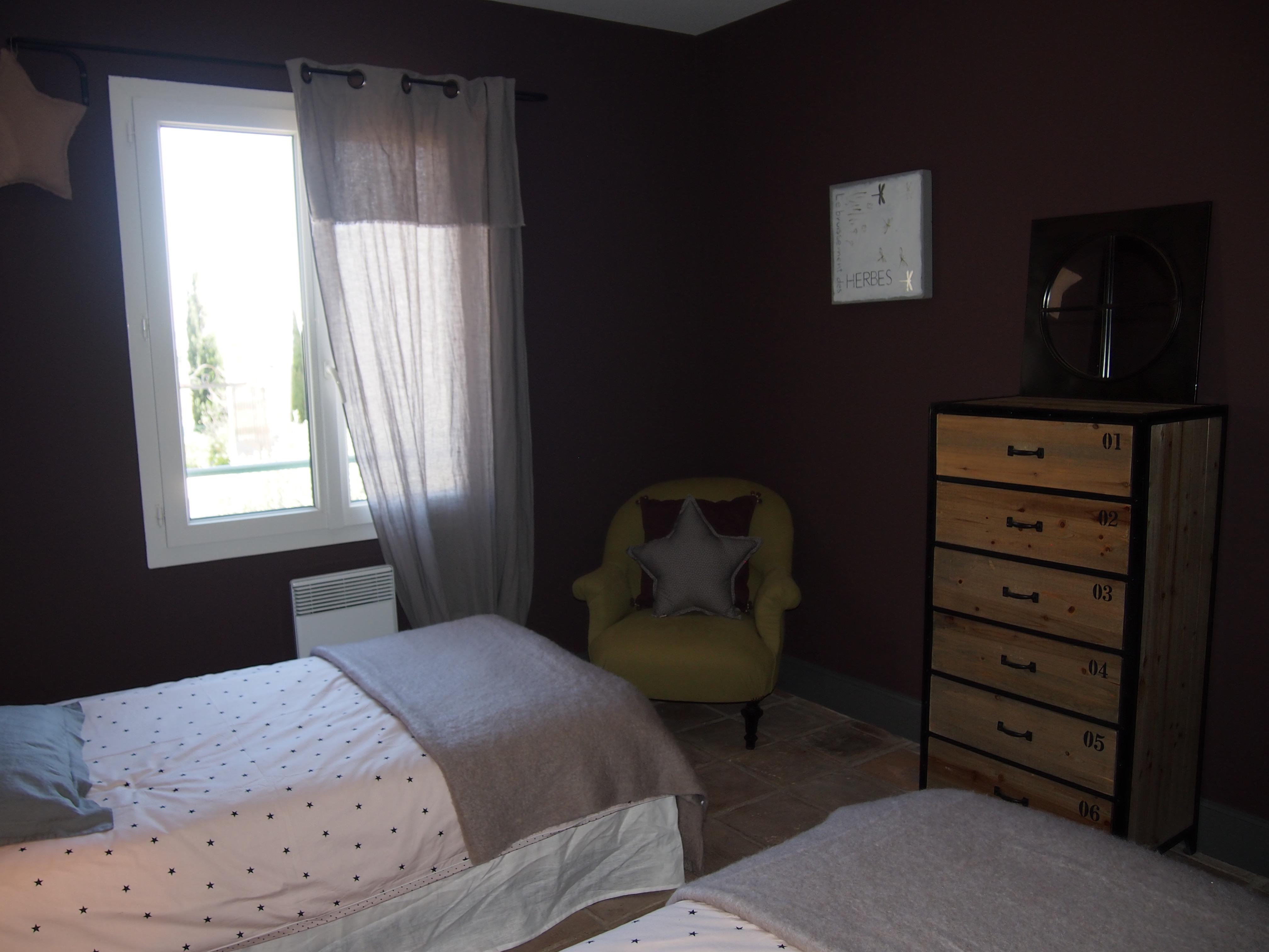 Chambre 3 deux lit