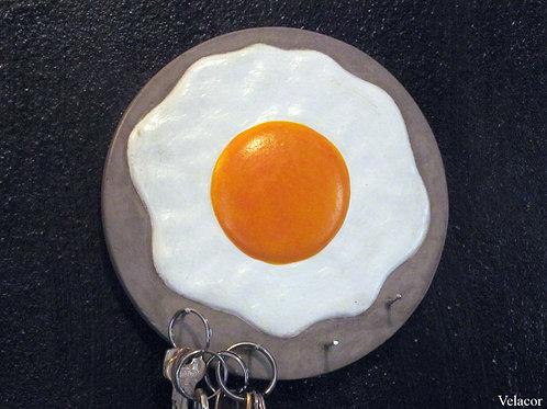 Porta Chaves - Ovo Frito