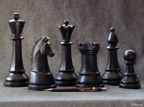 6 Peças Black