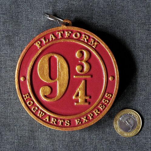 Medalhão  Plataforma 9 3/4