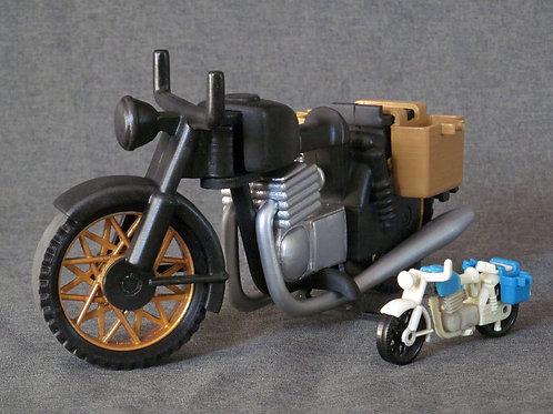 Motocicleta gigante!