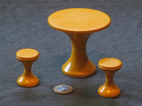 Miniaturas Mesa e Banquetas