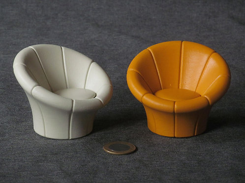 Miniatura poltrona Cogumelo