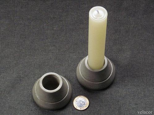 Vela cilíndrica 2,7 cm + Base