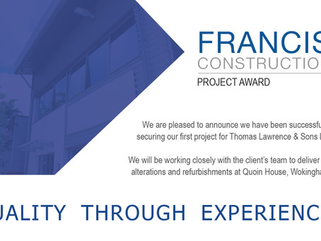 New Project Award at Quoin House