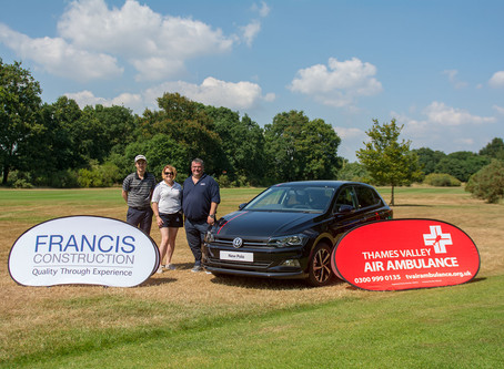 Proud to be supporting Thames Valley  Air Ambulance ....
