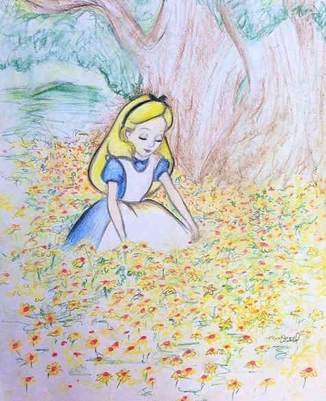 Alice doodle