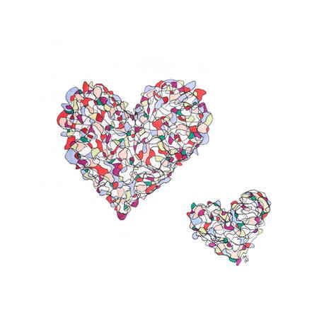 Scribble Hearts
