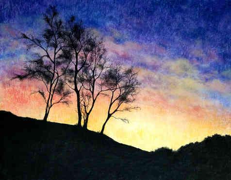 Sunset at the Radfords