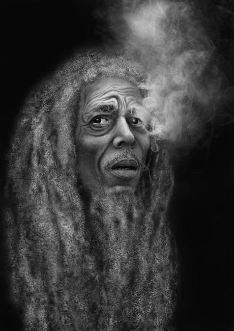 Aged Bob Marley