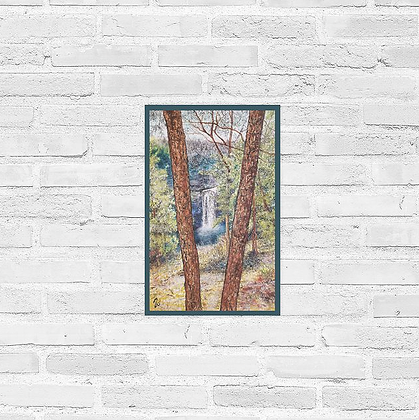 """Taughannock Falls Poster 11""""x17"""""""