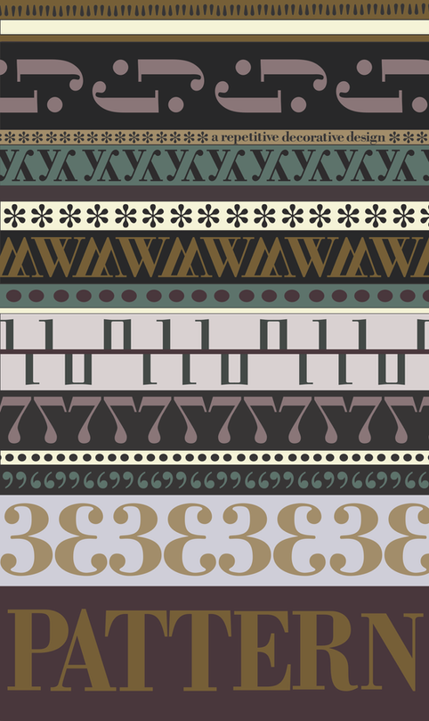 Pattern - Bodoni