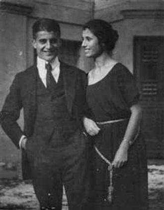 Pier Giorgio Frassati and his sister Luciana