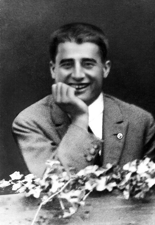 Photo of Pier Giorgio smiling