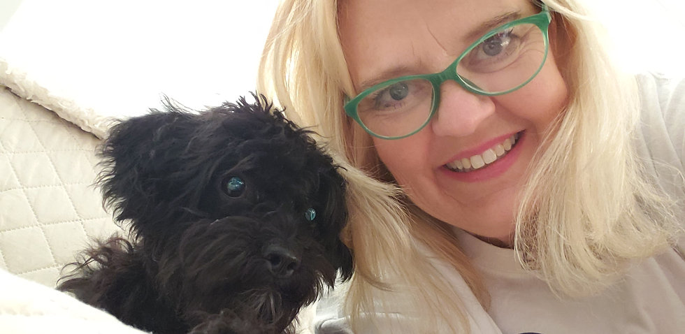 Angie and Hope (Schnoodle)