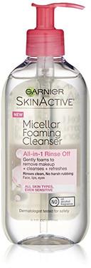 Garnier Skin Active foaming cleanser