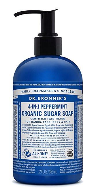 Dr. Bronner's Organic Sugar Soup