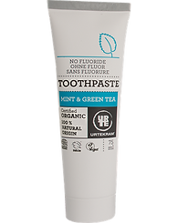 Certified Organic Toothpaste / Fluoride Free / Mint & Green Tea