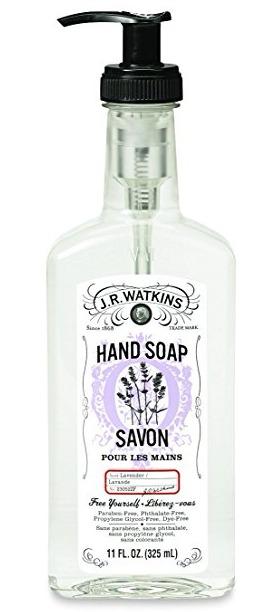 J.R. Watkins hand soap