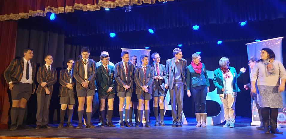 Afrikaans Hoër Seunskool met Aksie! Behaal 3de plek