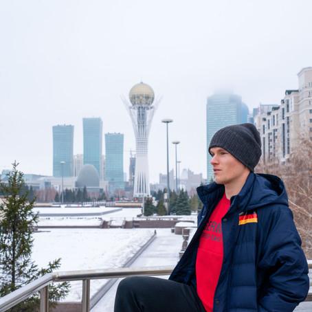 Von Weißrussland nach Japan