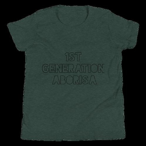 1st Generation Aborisa Youth Short Sleeve T-Shirt