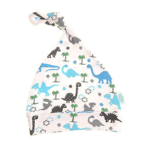 Uptown Dinosaur Cotton Baby Hat