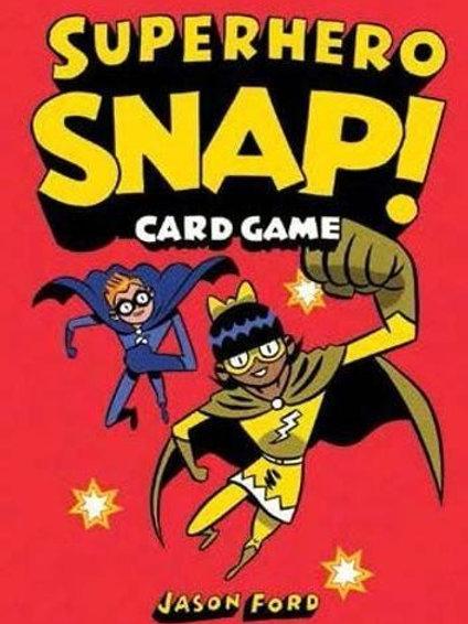 Superhero Snap Card Game