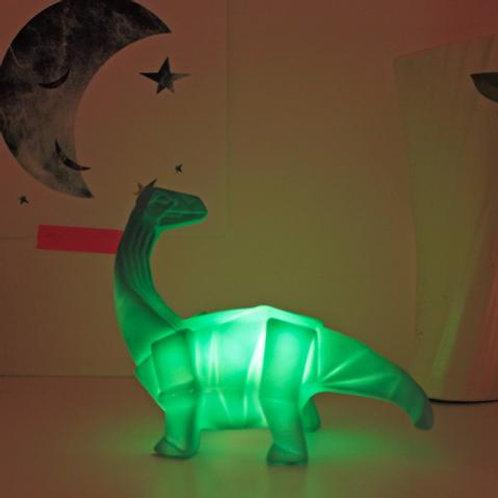 Mini LED Lamp Dinosaur - Green